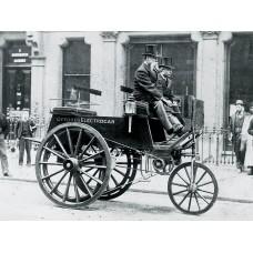Электромобили появились еще в 19 веке