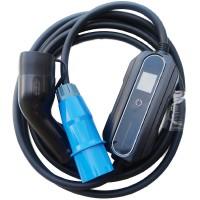 Зарядное Type2 - 32A (синяя вилка)