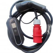 Зарядное Type2 - 32A (красная вилка)